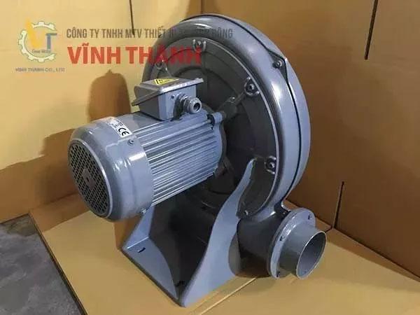 Máy thổi khí hoạt động với công suất ổn định, tiết kiệm năng lượng